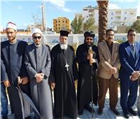 وكيل مطرانية طيبة للبحر الأحمر يشارك في العيد القومي للمحافظة