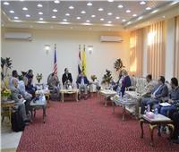 وفد من «الكونجرس الأمريكي» يزور شمال سيناء