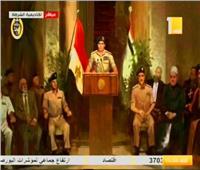 السيسي يشهد فيلمًا تسجيليًا بعنوان «هنا مصر» في عيد الشرطة