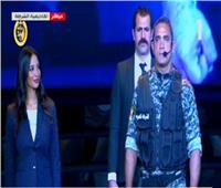 الرئيس السيسي يشهد عرضًا مسرحيًا في احتفالات عيد الشرطة