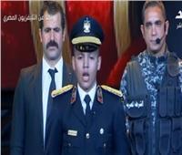 نجل الشهيد وائل طاحون أمام السيسي: أتعهد بفداء مصر بروحي