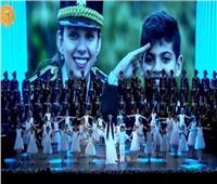 الرئيس السيسي يشهد كورال الأطفالباحتفالات عيد الشرطةالـ68