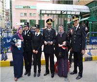 «ورود وهدايا» في مينائي الإسكندرية والدخيلة احتفالا بعيد الشرطة