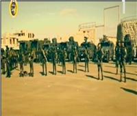 السيسي يشهد فيلمًاتسجيليًا عن تاريخ الشرطة