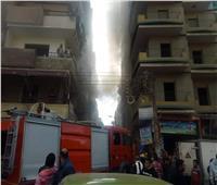 حريق بشقة سكنية يثير الذعر بالمدينة الجامعية في طنطا