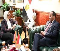 وزيرة الصحة: مصر تدعم توفير احتياجات السودان من المستحضرات الدوائية