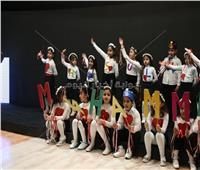 صور| فقرات فنية بالإنجليزية لرياض أطفال الأزهر بجناحه في معرض الكتاب
