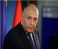 شكري: هناك تنظيمات إرهابية في ليبيا لا تقل خطرًا عن داعش