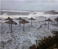 نتيجة النوة الشديدة وارتفاع الأمواج.. بيان من «الري» حول منطقة الشاطئ بكفر الشيخ