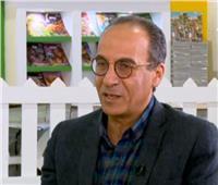 فيديو| هيثم الحاج: معرض الكتاب بمثابة «وجه مصر»