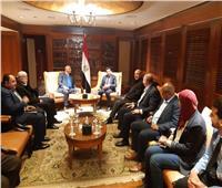 وزير الرياضة يلتقي وفد المنظمة الدولية لمكافحة المنشطات