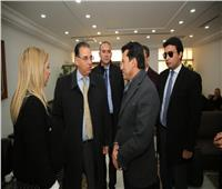 وزيرة شئون الشباب والرياضة بتونس تستقبل «صبحي» بمطار قرطاج