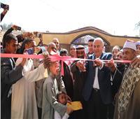 محافظ قنا يفتتح المسجد الجديد بقرية الشيخ علي شرق