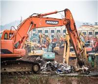 صور| خلال 10 أيام.. الصين تبني مستشفى لعلاج المصابين بـ«كورونا»