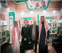 نقيب الممثلين يزور الجناح السعودي بمعرض الكتاب