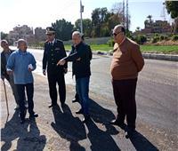 محافظ الأقصر يتفقد أعمال رصف وتطوير شوارع البياضية| صور