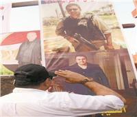 دماء الشهداء تروي تراب الوطن لتصون أمن المصريين