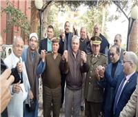 صور| رئيس مركز ومدينة أشمون يهنئ رجال الداخلية بعيد الشرطة