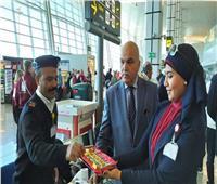 صور| المطارات المصرية تحتفل بعيد الشرطة الـ ٦٨
