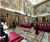البابا فرنسيس يستقبل قضاة محكمة الروتا الرومانية