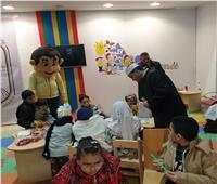 بمناسبة عيد الشرطة.. مجلة نور تقدم ورشة «أسود الوطن» بجناح الأزهر الشريف