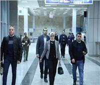 لمنع تسلل «كورونا».. وزيرة الصحة تراجع الإجراءات الوقائية بمطار شرم الشيخ الدولي