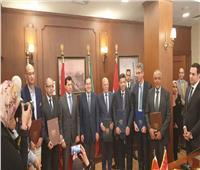 وزير البترول يسلم مركز الشباب والرعاية الصحية لمحافظة بورسعيد