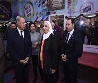 وزيرة التضامن تتفقد مجمع خدمات المرأة المتكامل بمدينة بنها
