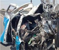 مصرع وإصابة 5 من أسرة واحدة في حادث تصادم بالمنوفية