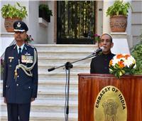 صور| سفارة الهند بالقاهرة تحتفل بعيد الجمهورية الـ 71