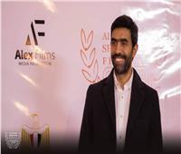 عمرو عابد في افتتاح مهرجان الإسكندرية للفيلم القصير