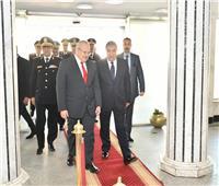 رئيس جامعة القاهرة في مديرية أمن الجيزة للتهنئة بعيد الشرطة