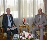 وزير الطيران المدني يلتقي أمين عام الاتحاد العربي للنقل الجوي
