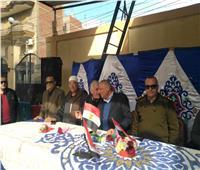 أبناء مركز أجا يحتفلون بعيد الشرطة
