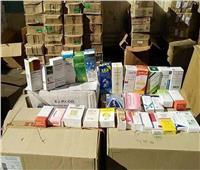 ضبط أدوية مهربة وغير مصرح بتداولها في الغربية