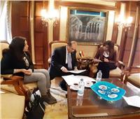 وزيرة الهجرة تستقبل محافظة المنطقة الروتارية لبحث المشاركة في «مراكب النجاة»