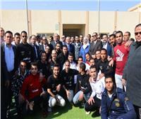 «القباج» تفتتحأول معرض لمنتجات المتعافين من الإدمان بمركز العزيمة في المنيا