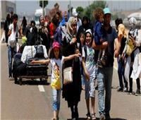 المصالحة الروسي: عودة 587 لاجئا سوريا إلى وطنهم