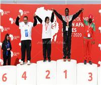 صور| نجوم «البوتشي» يحصدون الذهب بالألعاب الأفريقية للأولمبياد الخاص