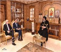البابا تواضروس يستقبل السفير الألماني بمصر