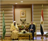 النائب العام يتفقد نيابات مُدن قناة السويس وبرفقته نظيره السعودي