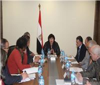 وزيرة الثقافة تبحث برنامج فعاليات تنصيب القاهرة عاصمة الثقافة الإسلامية