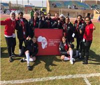 منتخب سيدات كرة القدم الخماسية يحصد ذهبية الأولمبياد الخاص بالقاهرة