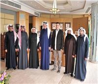 السفير أسامة نقلي يلتقي وفد حقوق الإنسان السعودي بالقاهرة