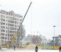 ميدان «التحرير» يتنفس التطوير.. رمز النضال استحق التجميل