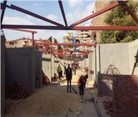 شاهد| أعمال تطوير سوق «داير الناحية» لنقل الباعة الجائلين بالزاوية الحمراء