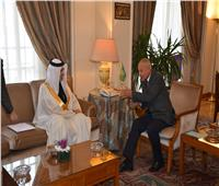 «أبو الغيط» يتسلم أوراق اعتماد مندوب البحرين الدائم لدى الجامعة العربية