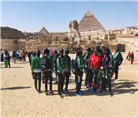 صور| جولة سياحية للوفود في ختام أول ألعاب أفريقية للأولمبياد الخاص
