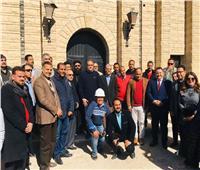 وزير السياحة والآثار يوجه بتطوير مغارة دير جبل الطير