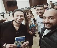 صور| أسما رؤوف توقع «سيناء قلب العالم» بمعرض الكتاب